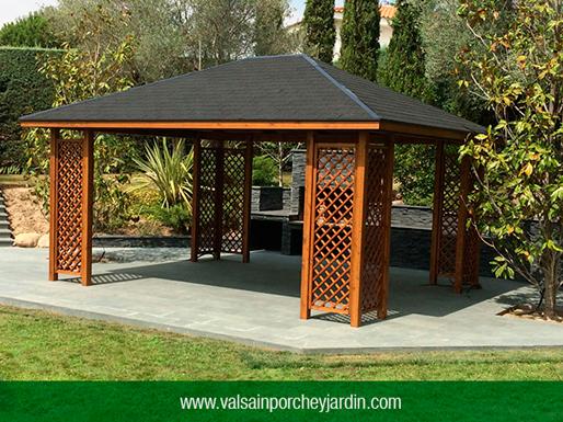 Valsa n porche y jard n for Valsain porche y jardin