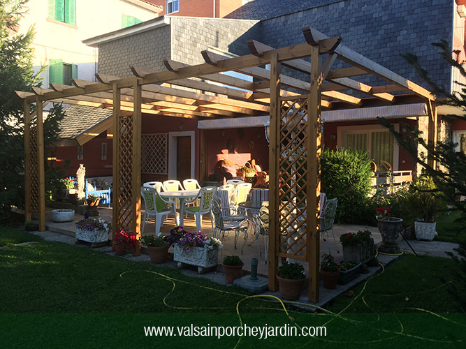 Productos for Valsain porche y jardin